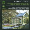 Edvard Grieg: Four hymns for mixed choir Op.  74 + Album for male choir and male baryton Op.30