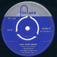 Rocke-Pelle - Easy goin' heart / Good rockin' baby