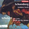 Verklärte Nacht / Arnold Schoenberg. String quartet Death and the maiden / Franz Schubert ; arr. Mahler