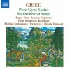 Peer Gynt Suites 1 + Six Orchestral Songs
